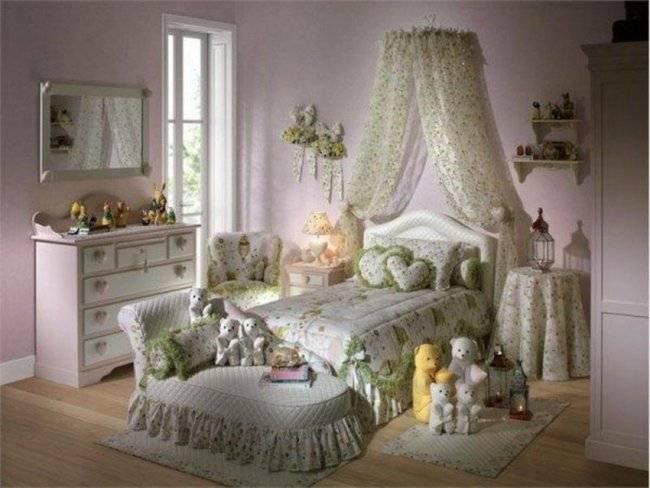 комната для девочка