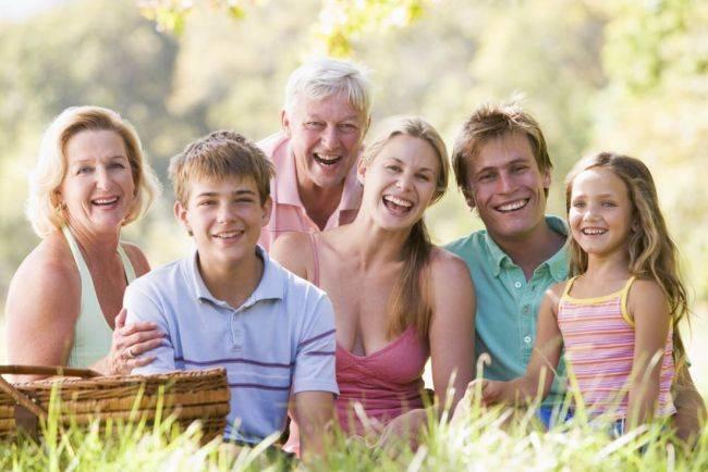 С родственниками