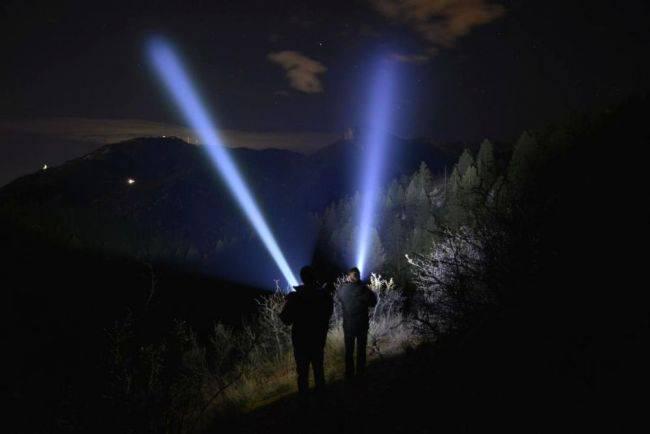 Топ 5 самых дальнобойных фонариков