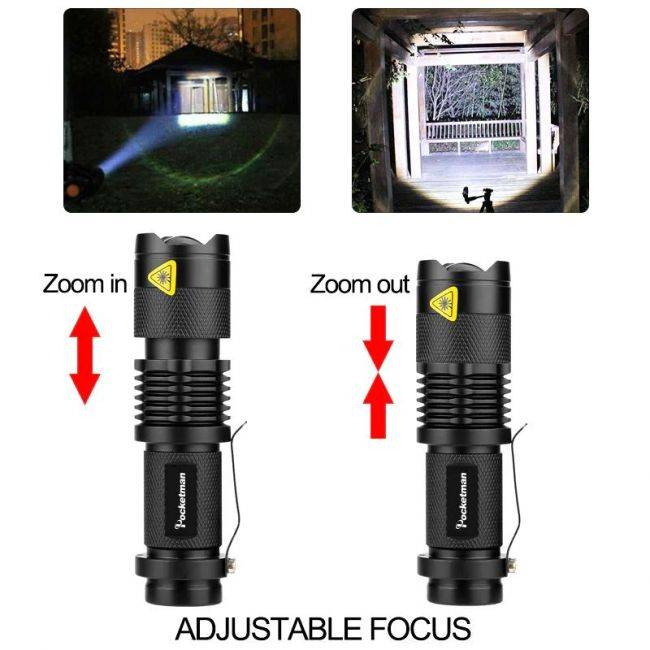 Интересный светодиодный фонарик