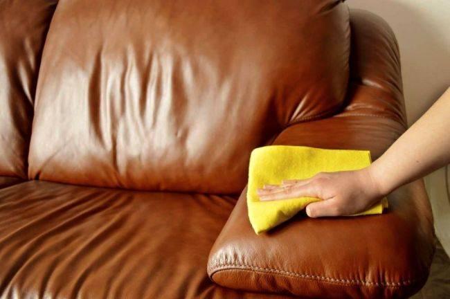 Подручные средства для очистки мебели