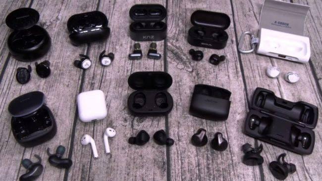 Дорогие модели наушников с Bluetooth