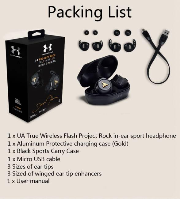 наушники JBL Project Rock True Wireless